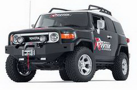Off Road Winch Bumper - Integrated Winch Mount To Accept Warn Mid Frame Winches - Up To 12000 lbs.