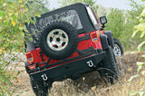 Rock Crawler - Rear Bumper - Accepts Tire Carrier