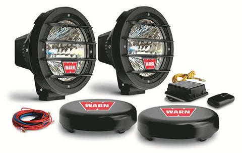 W700 H.I.D. Driving Light - Incl. Two Lights - Mounting Hardware - Wireless Control - Transmitter - Wiring - Rock Guards And Covers