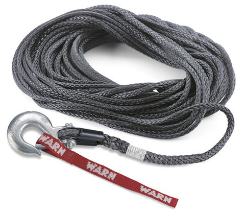 SpyduraSynthetic Winch Rope - 3/8 in. x 100 ft. - Can be used with Warn Winches 10,000 lb & under. - Must be used with Polished Finish_ALUMINUMinum Hawse Fairlead P/N 87914