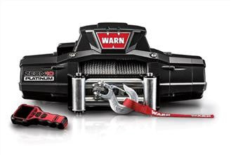 ZEON 10 PLATINUM - WARN WINCH, W/ROLLER FAIRLEAD,WIRE ROPE