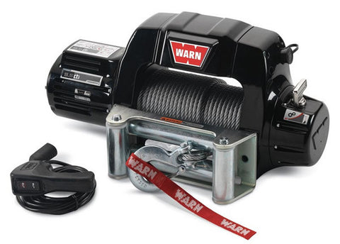 9.5cti - Warn Winch - 9500 lb. w/Roller Fairlead, Wire Rope