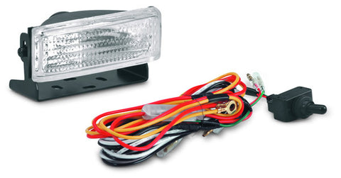 ATV Back Up Light - 35 Watt - H3 Halogen Bulb - Incl. Mounting Bracket - Wiring Harness - Switch - And Mounting Hardware
