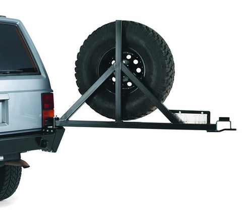 Bumper Tire Carrier - For Use w/PN[65800] Rear Bumper