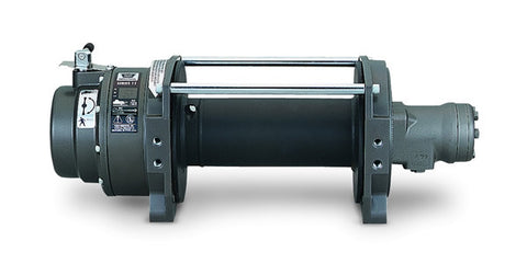 Series 12 Hydraulic - Industrial Winch - 12000 lb.- Clockwise Rotation