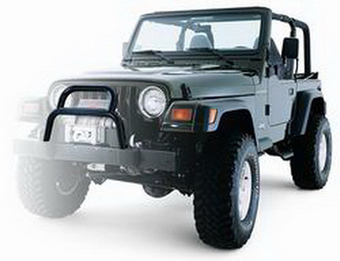 Factory Bumper Grille Guard Tube - Hard Winch Cover Not Compatible w/Grille Guard - For Warn Winches Except M8274 50
