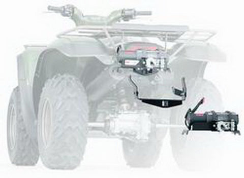 ATV Winch Mounting System - Combination Winch Mount And Bumper