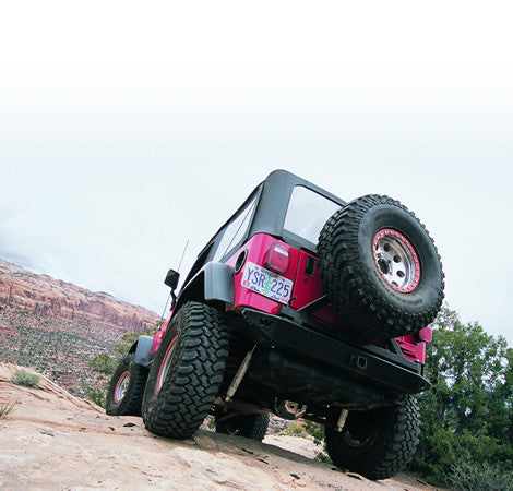 Rock Crawler - Rear Bumper - Will Not Accept Tire Carrier