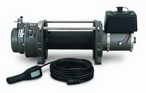 Series 12 DC - Industrial Winch - 12000 lb.- 24V DC Motor