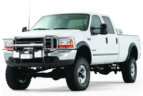 Trans4mer - Brush Guard - For Use w/Trans4mer Grille Guard - Two Bar Wrap Around - Stainless