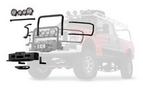 Gen II Trans4mer - Winch Carrier -  REQUIRED -  Black - FITS: PowerPlant HP&HD, Zeon, VR , 9.5, XD9i,XD9,M8 - Requires Bracket Kit