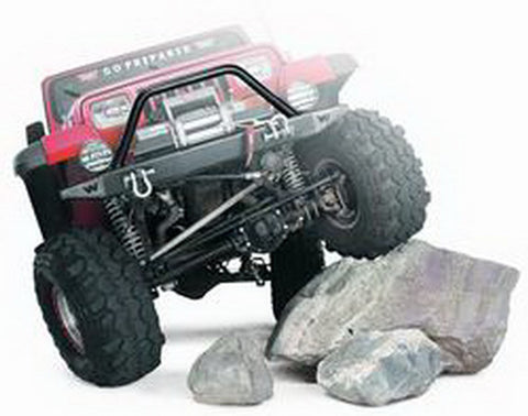 Rock Crawler - Grille Guard Tube - Req. Winch Plate PN[37170] - Hard Winch Cover Not Compatible w/Grille Guard
