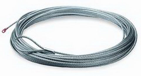 Wire Rope - 3/8 in. x 125 ft. - For Winch Model M12000 - Incl. Loop Thimble