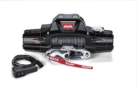 ZEON 10 S - Warn Winch - 10000 lb w/synthetic Rope