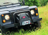 Soft Winch Cover - XD9000 - M8000 - And M6000 Winches Mounted On The Classic Bumper - When Control Pack Is Behind Motor
