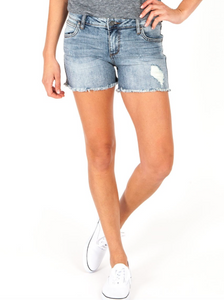 Gidget Fray Short (Ladylike Wash)
