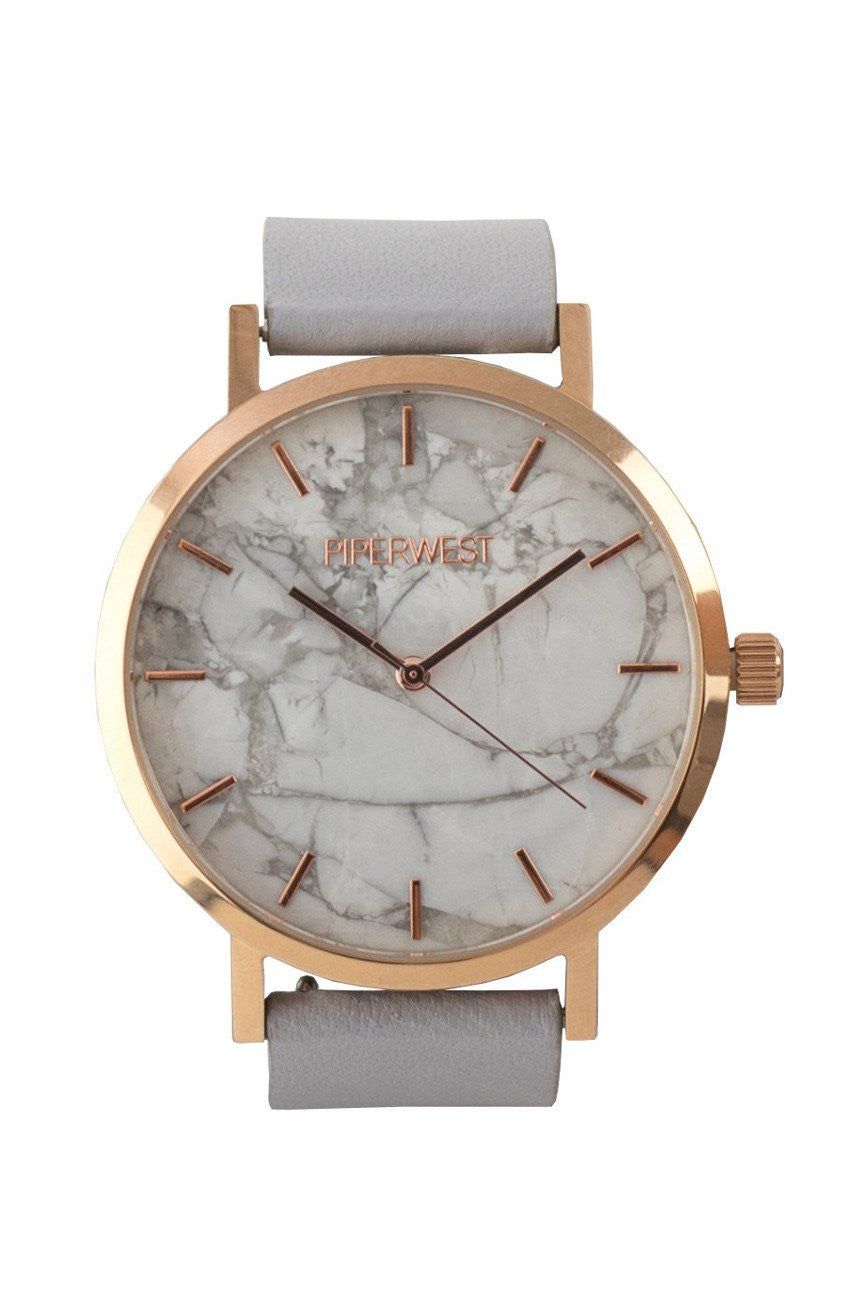 Marble Minimalist Rose Gold Grey