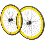 retrospecbicycles.com - Mantra Wheelset with Kenda Kwest Tires Yellow, Retrospec Bicycles - 12