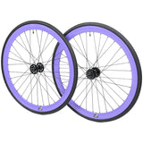 retrospecbicycles.com - Mantra Wheelset with Kenda Kwest Tires Purple, Retrospec Bicycles - 8