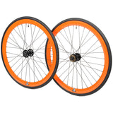 retrospecbicycles.com - Mantra Wheelset with Kenda Kwest Tires Orange, Retrospec Bicycles - 11