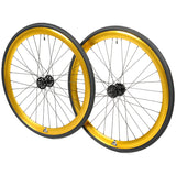 retrospecbicycles.com - Mantra Wheelset with Kenda Kwest Tires Gold, Retrospec Bicycles - 1