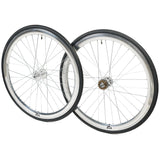 retrospecbicycles.com - Mantra Wheelset with Kenda Kwest Tires Chrome, Retrospec Bicycles - 2
