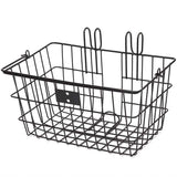 retrospecbicycles.com - Apollo-Lite Mini Lift-Off Bike Basket Black, Retrospec Bicycles - 1