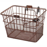 retrospecbicycles.com - Apollo Steel/Mesh Bike Basket Brown, Retrospec Bicycles - 11