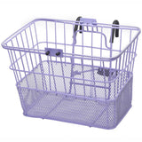 retrospecbicycles.com - Apollo Steel/Mesh Bike Basket Lavender, Retrospec Bicycles - 6
