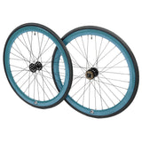 retrospecbicycles.com - Mantra Wheelset with Kenda Kwest Tires Aqua, Retrospec Bicycles - 7