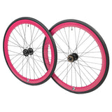 retrospecbicycles.com - Mantra Wheelset with Kenda Kwest Tires Pink, Retrospec Bicycles - 9