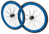 retrospecbicycles.com - Mantra Wheelset with Kenda Kwest Tires Blue, Retrospec Bicycles - 6