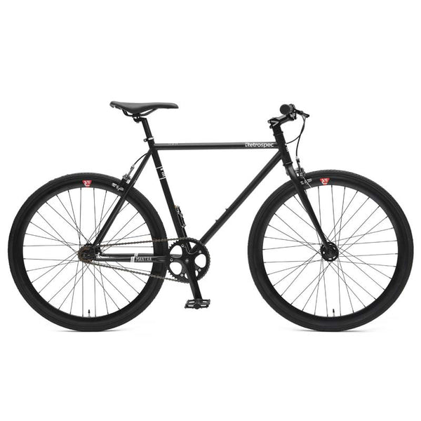 Retrospec Bicycles - Mantra V2 Matte Black / 43cm-xs, Retrospec Bicycles - 8