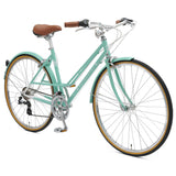 retrospecbicycles.com - Kinney 14-Speed Mixte Bike 43cm-s / Celeste, Retrospec Bicycles - 2