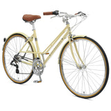 retrospecbicycles.com - Kinney 14-Speed Mixte Bike 43cm-s / Cream, Retrospec Bicycles - 3