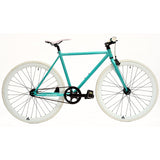 retrospecbicycles.com - Mantra Fixed-Gear / Single-Speed Bike 57cm-l / Turquoise and White, Retrospec Bicycles - 18