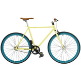retrospecbicycles.com - Mantra Fixed-Gear / Single-Speed Bike 43cm-xs / Cream and Aqua, Retrospec Bicycles - 14