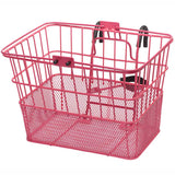 retrospecbicycles.com - Apollo Steel/Mesh Bike Basket Pink, Retrospec Bicycles - 12