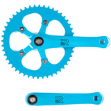retrospecbicycles.com - Beta Crankset Aqua / 44T, Retrospec Bicycles - 2