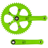 retrospecbicycles.com - Beta Crankset Green / 44T, Retrospec Bicycles - 4
