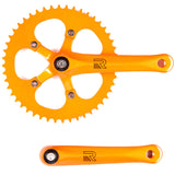 retrospecbicycles.com - Beta Crankset Orange / 44T, Retrospec Bicycles - 6