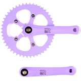 retrospecbicycles.com - Beta Crankset Purple / 48T, Retrospec Bicycles - 7