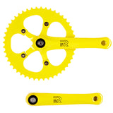 retrospecbicycles.com - Beta Crankset Yellow / 44T, Retrospec Bicycles - 5