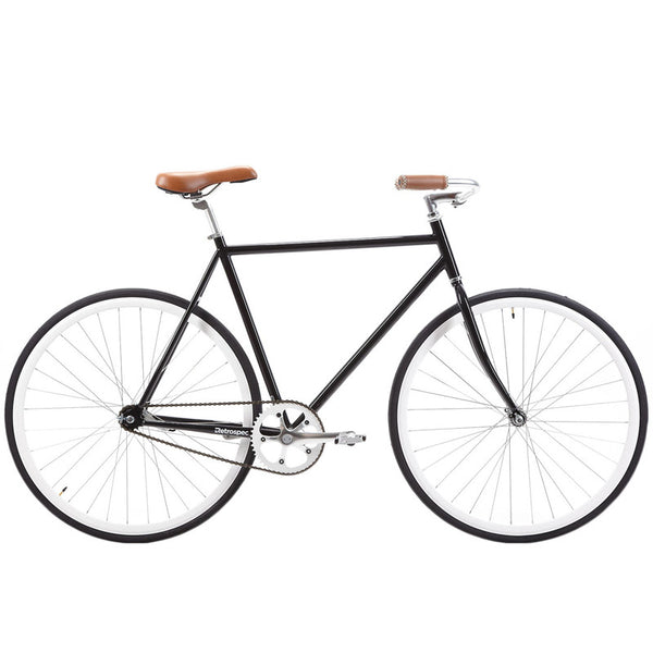 retrospecbicycles.com - Siddhartha Urban Single-Speed Coaster Bike 45cm-xs / Black, Retrospec Bicycles - 1