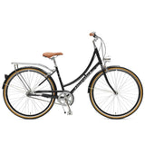 Retrospec Bicycles - Venus-3 Step-Thru Three-Speed City Bike Black / 38cm, Retrospec Bicycles - 1