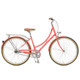 Retrospec Bicycles - Venus-3 Step-Thru Three-Speed City Bike Coral / 38cm, Retrospec Bicycles - 5
