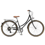 Retrospec Bicycles - Venus-7 Step-Thru Seven-Speed City Bike Black / 38cm, Retrospec Bicycles - 1