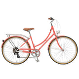 Retrospec Bicycles - Venus-7 Step-Thru Seven-Speed City Bike Coral / 38cm, Retrospec Bicycles - 4