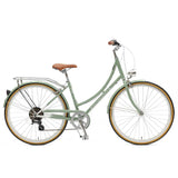 Retrospec Bicycles - Venus-7 Step-Thru Seven-Speed City Bike Mint / 38cm, Retrospec Bicycles - 9