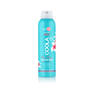 Coola Sunscreen Spray Guava Mango SPF50